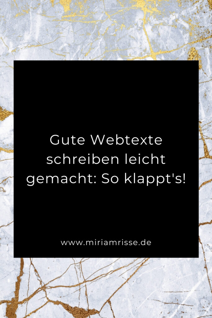 Sinnbild für gute Webtexte schreiben