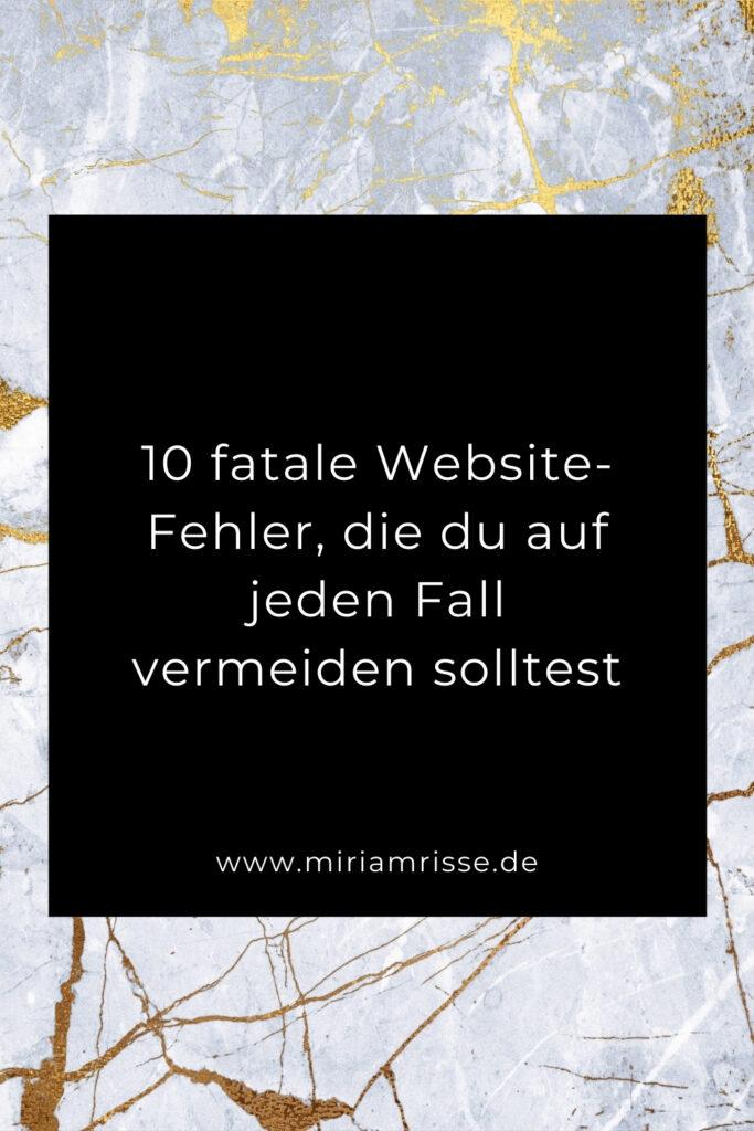 Sinnbild für Website-Fehler