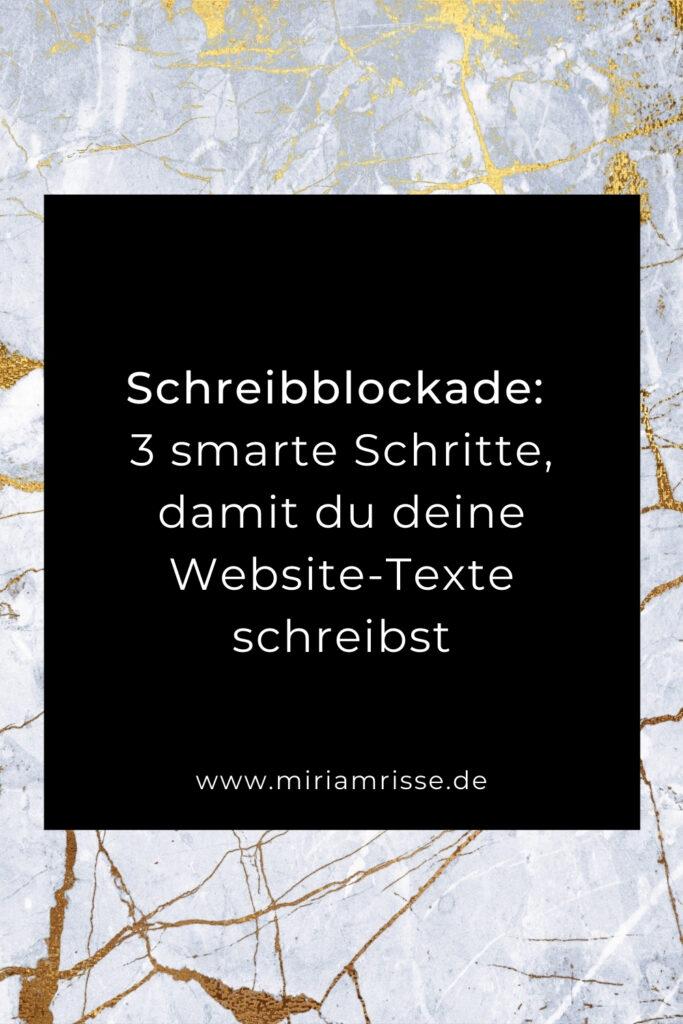 Sinnbild für Schreibblockade
