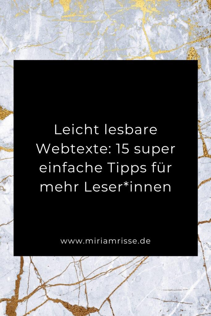 Sinnbild für gut lesbare Webtexte