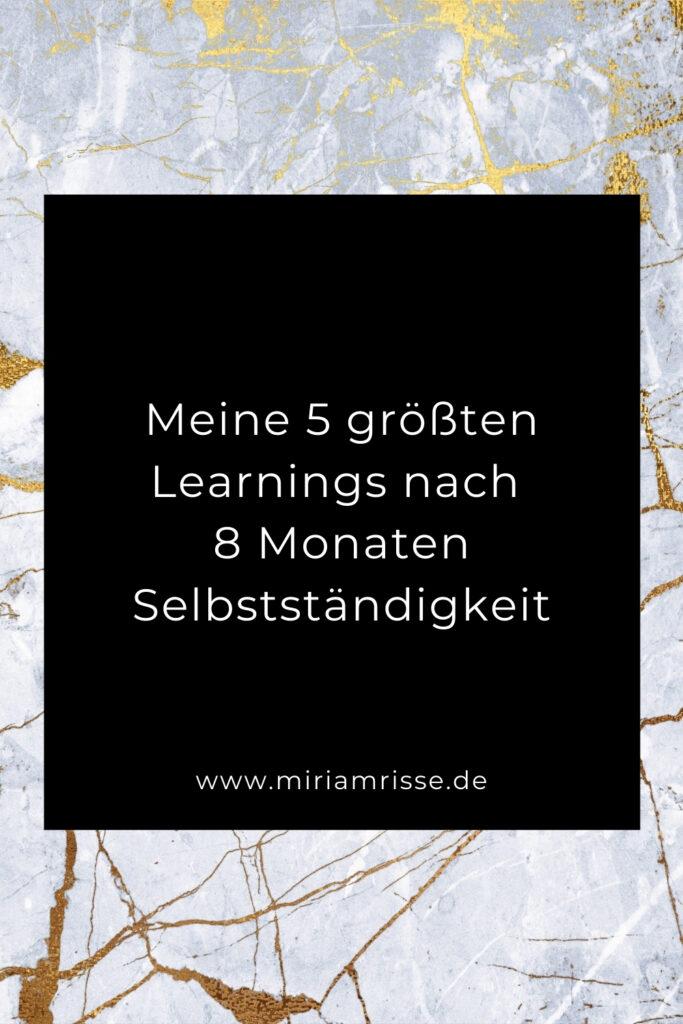 Sinnbild für Learnings in der Selbstständigkeit