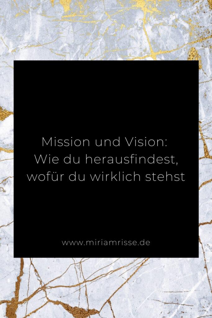 Sinnbild für Mission Vision