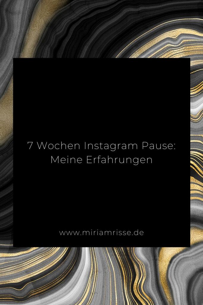 Sinnbild für Instagram Pause